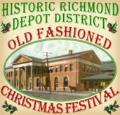 The Old Fashioned Christmas Festival in Richmond, IN's Depot District