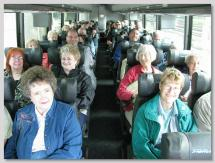 Group on Bus for Richmond Fall FAM Tour.
