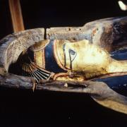 Egyptian mummy at Wayne County Historical Museum